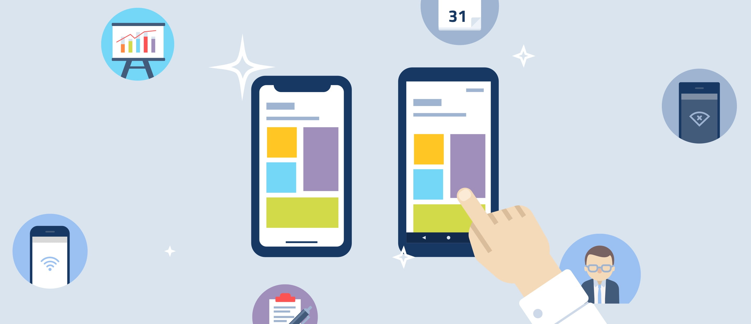 Potential of mobile apps in HR