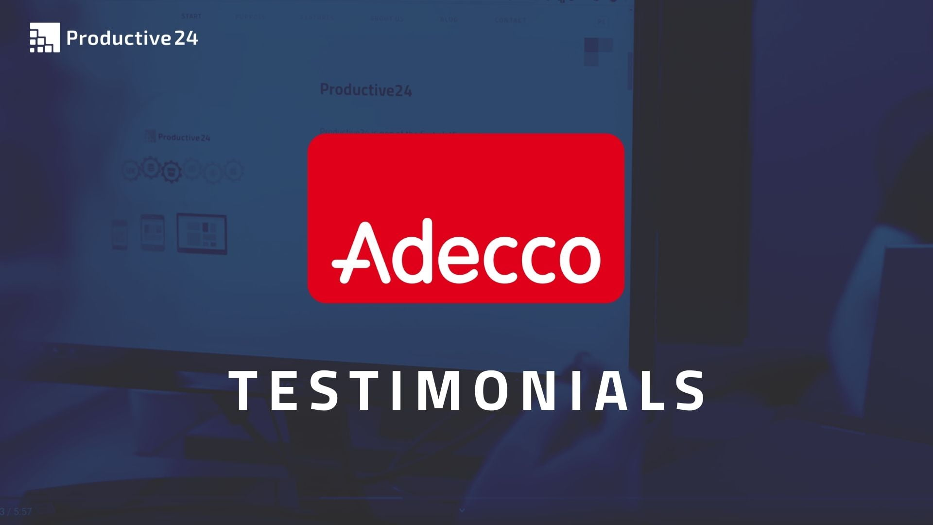 Adecco Group digitized by Productive24
